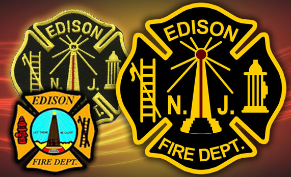 Edison Fire Department Logo