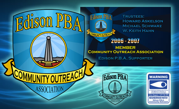 Edison PBA Community Outreach
